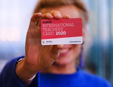 Haal je lerarenkaart 2020 op in de bib